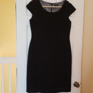TAHARI Dress, Size 12, Black